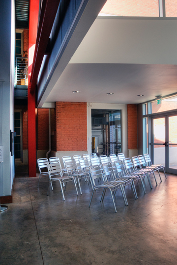 south lobby class area