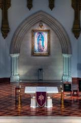 predella, altar rerodos and image