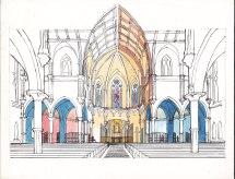 interior apse renovation proposal