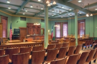 county commissioners courtroom
