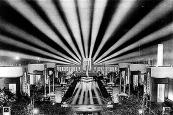 1936 Centennial at the Espanade at night