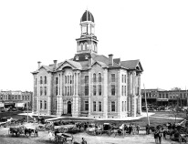 historic photograph from southeast