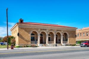 S. Waco St front facade