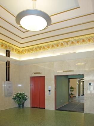 restored lobby