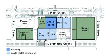 city block site plan