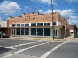 restored Annex facade on W. Wardville St.