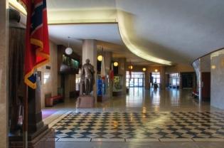 lobby at the grand entrance