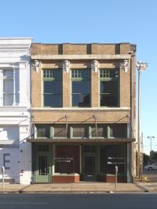 restored Commerce St. facade