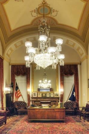 Sam Rayburn's office replica