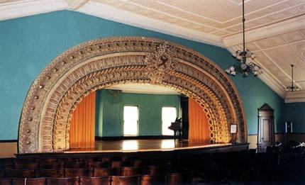 auditorium with sullivanesque proscenium