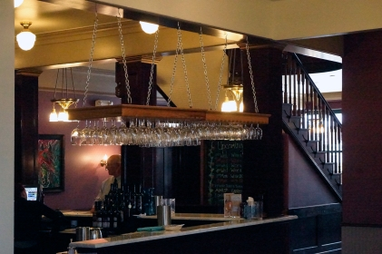 wine tasting lobby bar